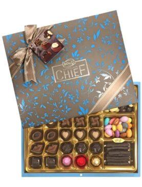 Bolçi Chocolate Düet Hediyelik Kutu Çikolata 630 Gram
